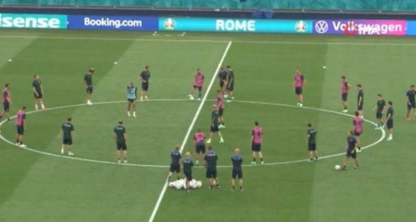 İtalya, Türkiye maçı hazırlıklarını tamamladı