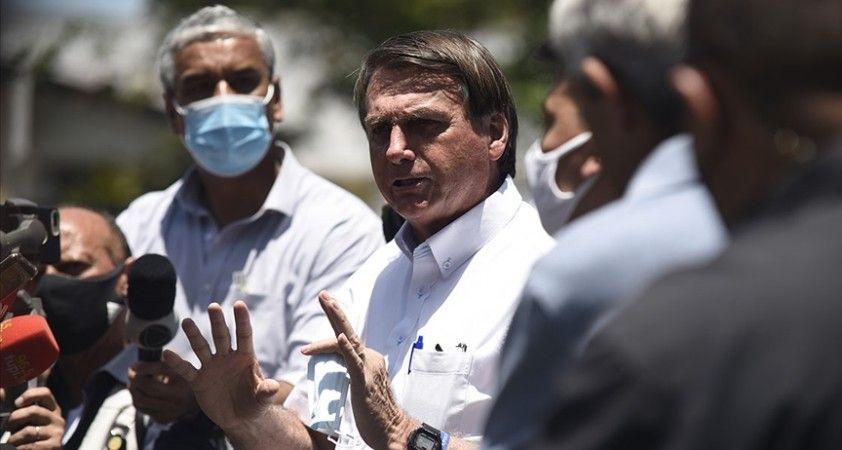 Brezilya Devlet Başkanı Bolsonaro Kovid-19'a karşı en iyi aşının virüsün kendisi olduğunu savundu