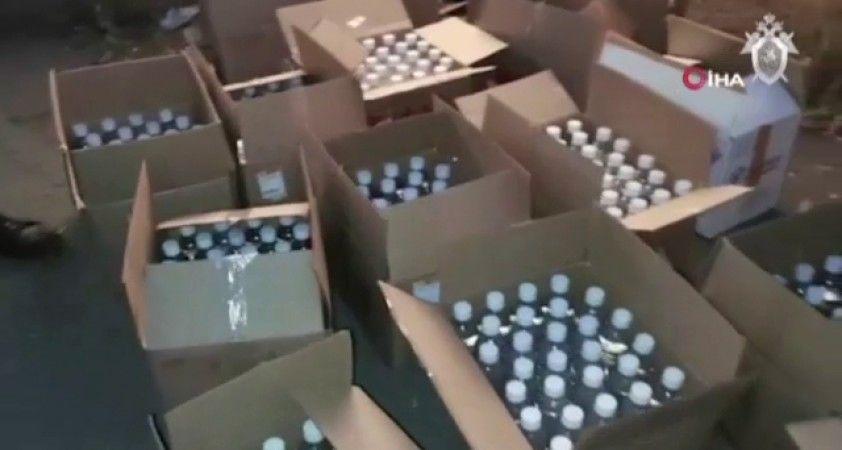 Rusya'da sahte içkiden 18 kişi hayatını kaybetti
