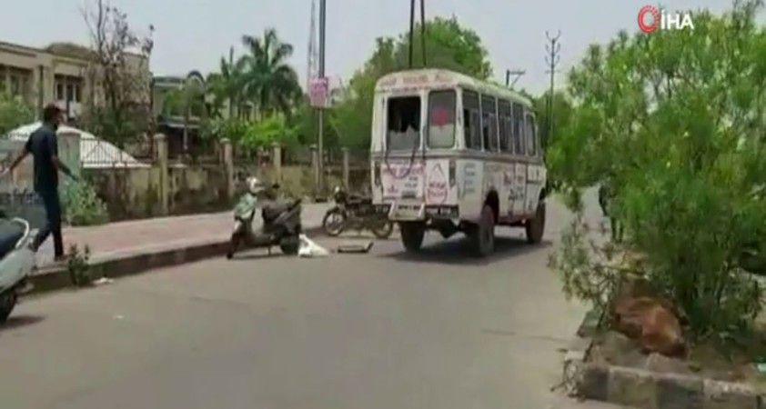 Hindistan'da korona salgınında korkutan görüntü