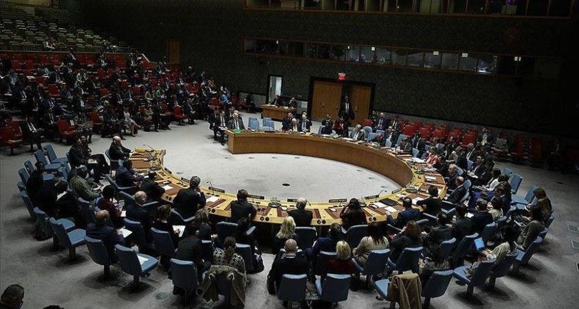 BMGK, Libya'da silah ambargosuna uyulmasını ve paralı askerlerin çekilmesini talep eden kararı kabul etti