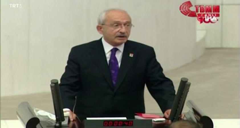 """CHP Genel Başkanı Kılıçdaroğlu: """"Saygın parlamento adaleti sağlayan bir parlamentodur"""""""