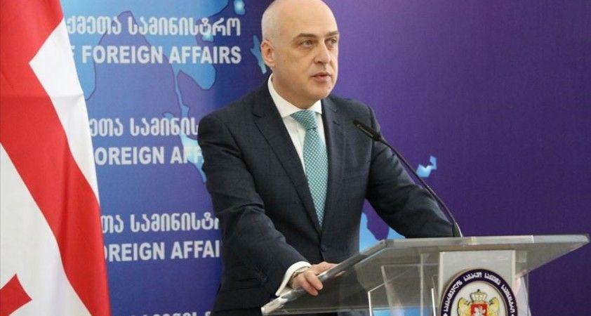 Gürcistan Dışişleri Bakanı Zalkaliani: Türkiye Gürcistan'ın toprak bütünlüğünü destekliyor