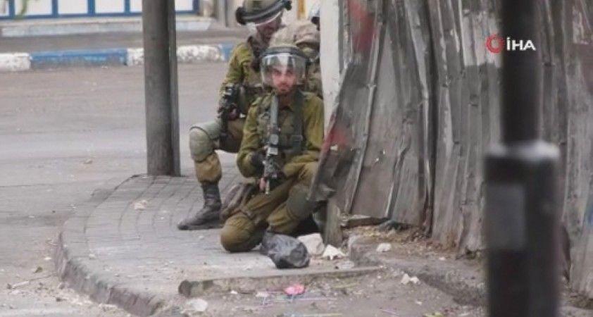 İsrail güçleri gösteri yapan Filistinlilere saldırdı