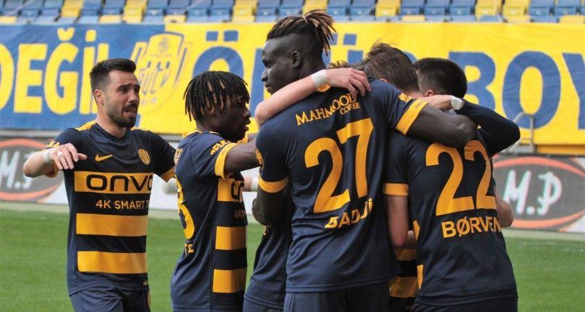 Süper Lig: MKE Ankaragücü: 1 - Fraport Tav Antalyaspor: 0 (Maç sonucu)