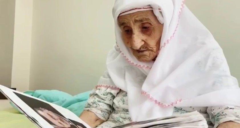 98 yaşındaki Sariye ninenin, Cumhurbaşkanı Erdoğan sevgisi
