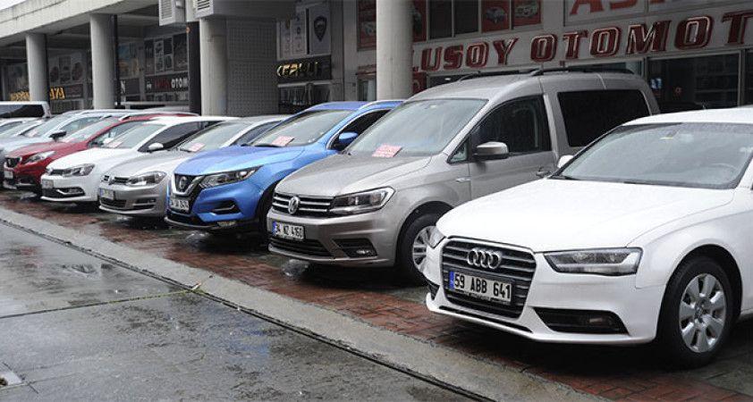 İkinci el araç piyasasında durgunluk sürüyor