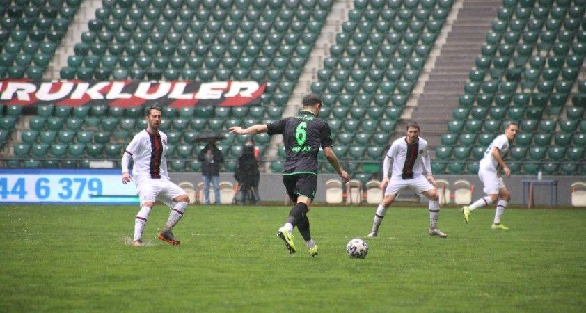 Süper Lig: Fatih Karagümrük:0 - İH. Konyaspor: 0 (İlk yarı)
