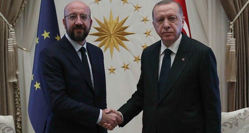 Erdoğan ve Michel Türkiye-AB ilişkilerini görüştü