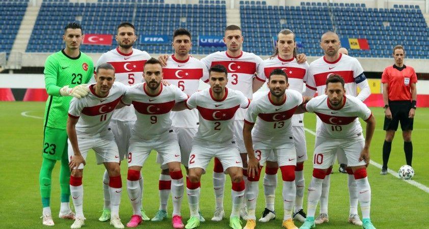 Hazırlık maçı: Türkiye: 0 - Moldova: 0 (İlk yarı)