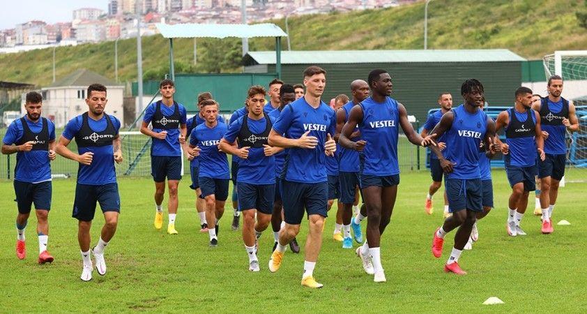 Trabzonspor, Beşiktaş maçı hazırlıklarını tamamladı