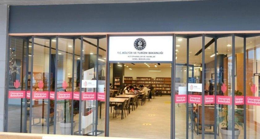Kültür ve Turizm Bakanlığı'ndan bir AVM kütüphanesi daha