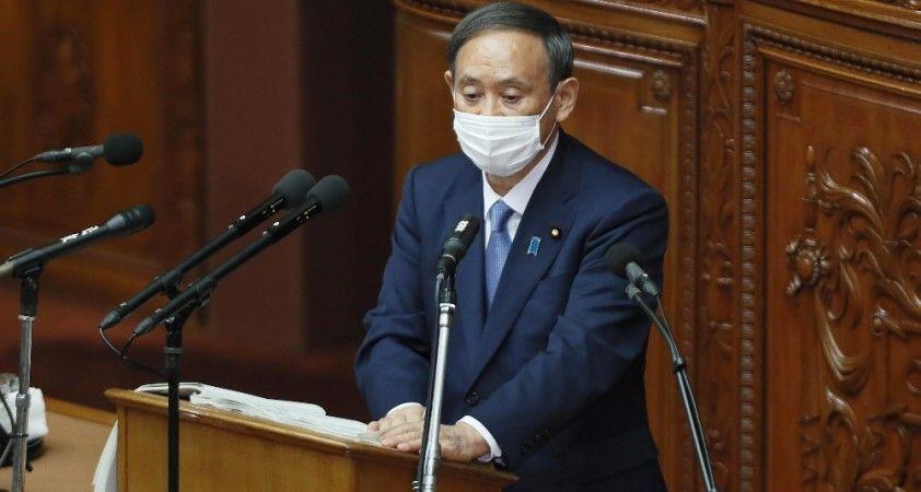 Japonya Başbakanı Suga'dan Güney Kore'ye mesaj
