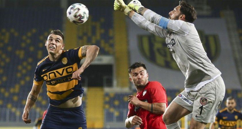 Süper Lig: MKE Ankaragücü: 0 - Gaziantep FK: 1 (Maç sonucu)