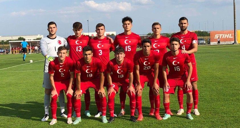 U19 Milli Futbol Takımı, Galler ile 2-2 berabere kaldı
