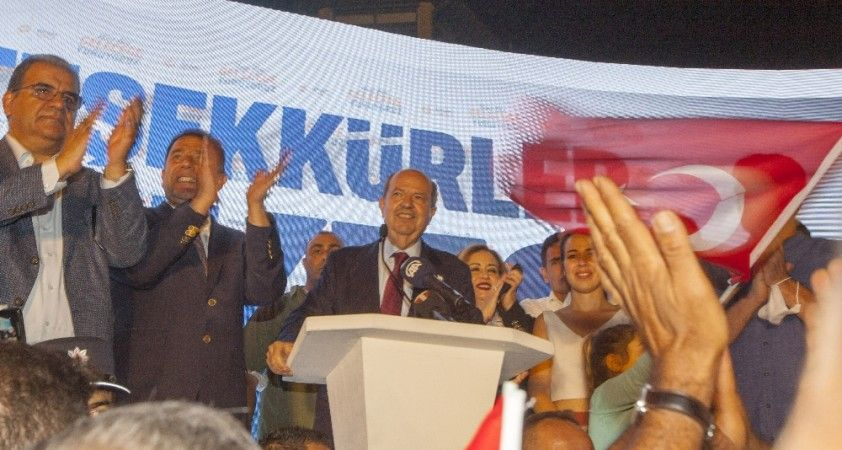 """KKTC'nin yeni Cumhurbaşkanı Tatar: """"Hiçbir zaman bizim Türkiye ile bağımızı koparamayacaklar"""""""