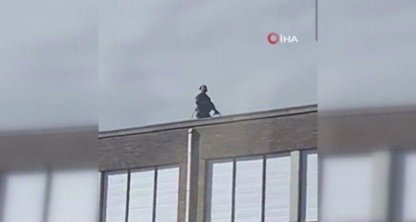 Belçika'da paniğe neden olan silahlı şüpheli yakalandı