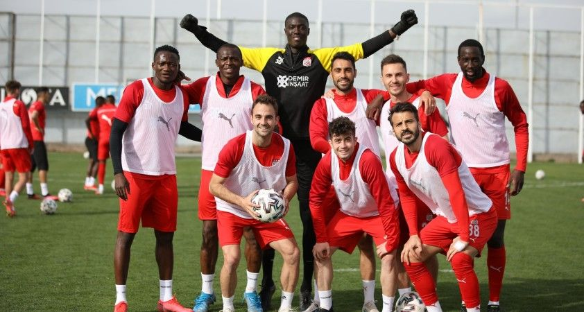 Sivasspor, Malatya maçına hazır