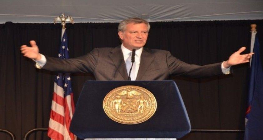 """New York Belediye Başkanı Blasio: """"New York, ABD'nin korona virüs merkez üssü"""""""