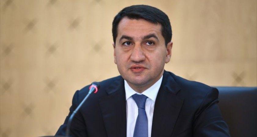 Azerbaycan Cumhurbaşkanı Yardımcısı Hacıyev: Ermenistan savaş uçaklarıyla ateşkesi ihlal etti