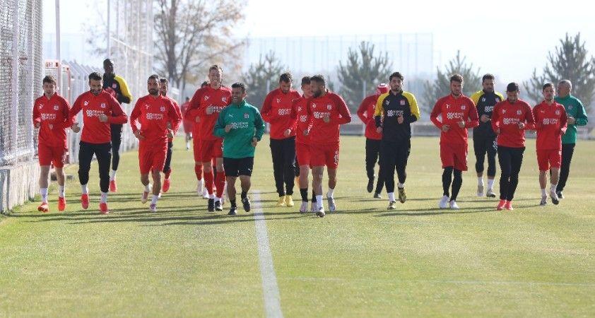Sivasspor, Karagümrük maçının hazırlıklarını sürdürüyor