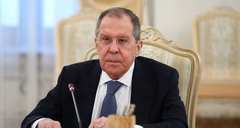 Lavrov: Libya'daki tarafların katılımıyla Cenevre'deki toplantı için hazırlık sürüyor