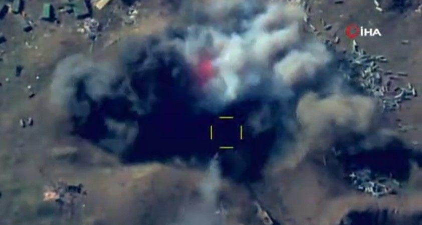 Ateşkesi bozan Ermenistan'a ait topçu birliği imha edildi