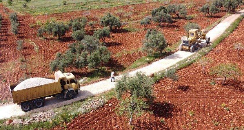 'Saklı Cennet' Halfeti kırsalında yol çalışmaları hızlandı