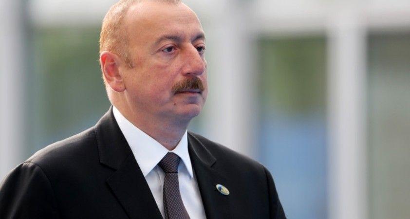 Azerbaycan Cumhurbaşkanı Aliyev ulusa seslendi