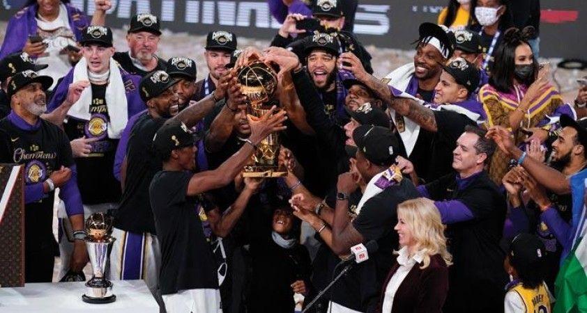 NBA'de şampiyon Los Angeles Lakers oldu