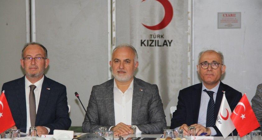 """Türk Kızılayı Başkanı Dr. Kerem Kınık: """"Milletimizin her geçen gün Kızılay'a olan güveni artıyor"""""""