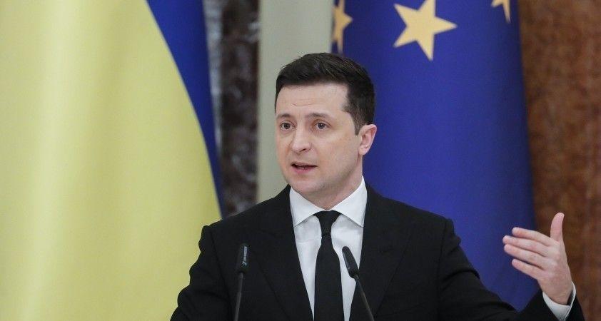 Ukrayna Devlet Başkanı Zelenskiy: