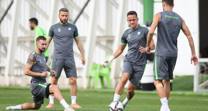 Konyaspor, Altay maçı hazırlıklarını tamamladı