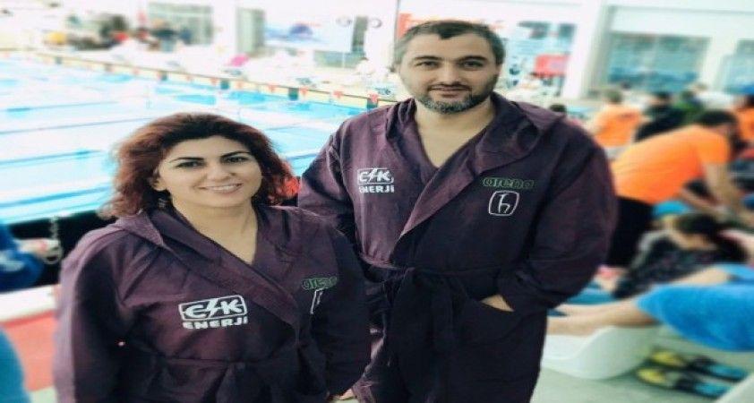 Uluslararası Masterlar Kış Yüzme Şampiyonası Antalya'da yapıldı