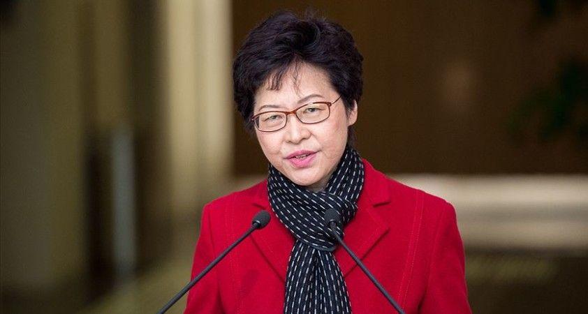 Hong Kong Baş Yöneticisi Lam'den Çin'in 'Ulusal Güvenlik Yasası'nı onaylamasına destek