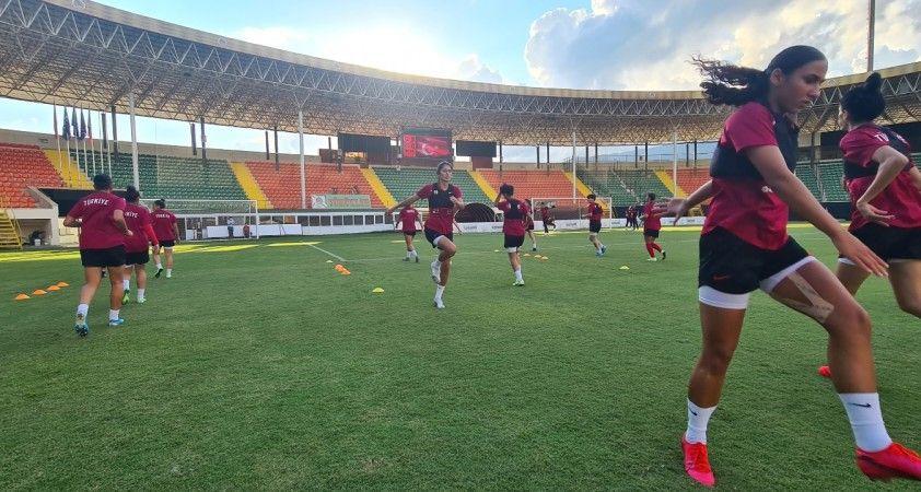 Kadın A Milli Takımı, Portekiz maçının son çalışmasını yaptı