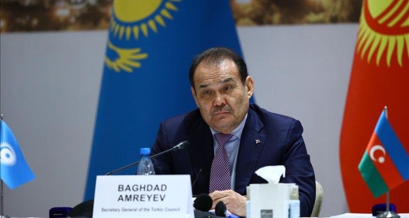 Türk Konseyi Genel Sekreteri Amreyev'den gerginlik yaşayan Kırgızistan ve Tacikistan'a çağrı