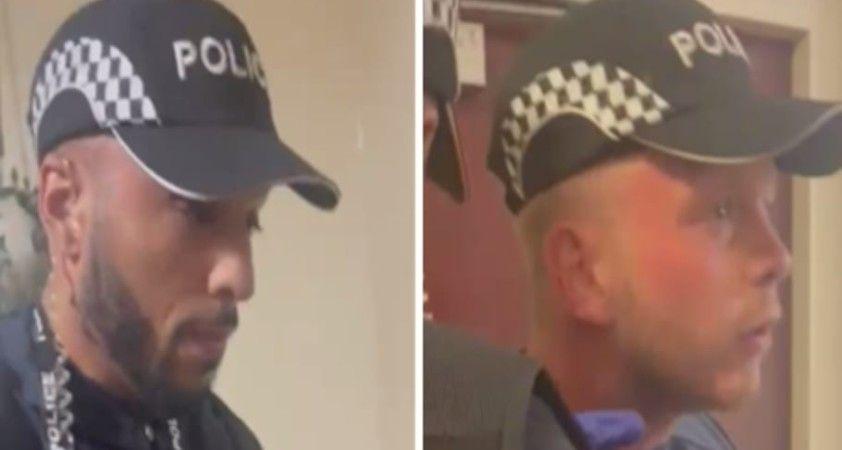 İngiltere'de sahte polis alarmı
