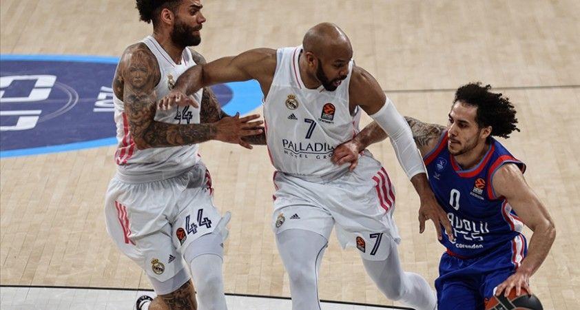 Anadolu Efes THY Avrupa Ligi play-off serisi üçüncü maçında Real Madrid'e konuk olacak