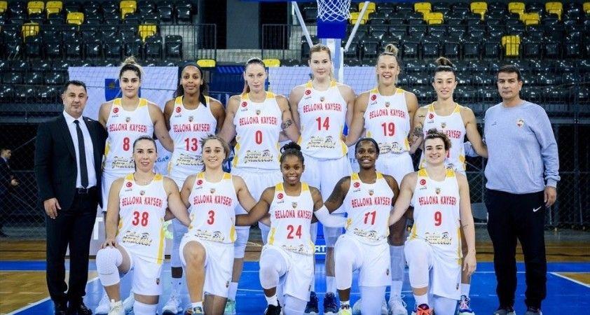 Bellona Kayseri Basketbol Avrupa sınavında