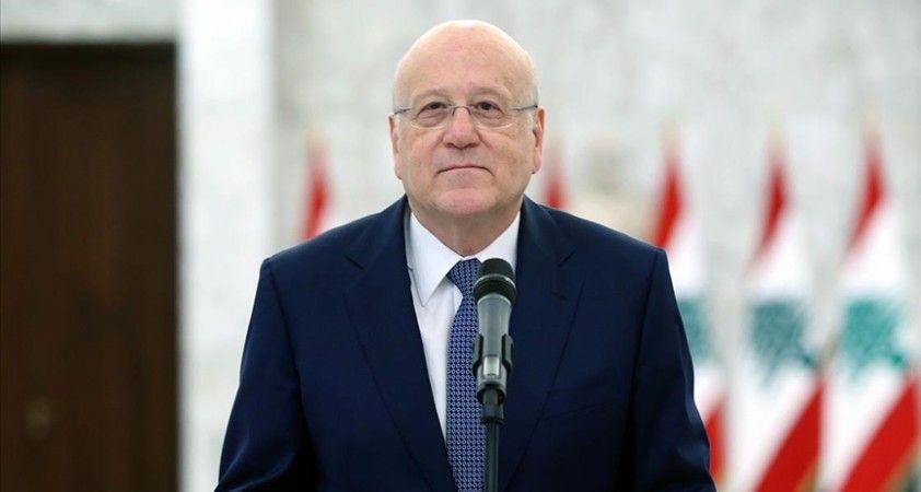 Lübnan'da yeni hükümeti kurmakla görevlendirilen Mikati, kabine üzerinde Cumhurbaşkanı ile anlaştı
