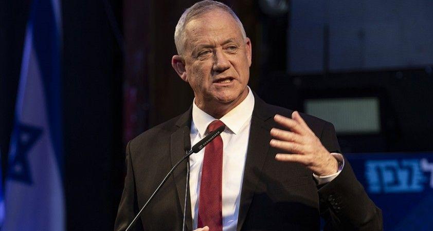 İsrail Savunma Bakanı Gantz Filistinli tutuklulara aşı yapılmamasına tepki gösterdi