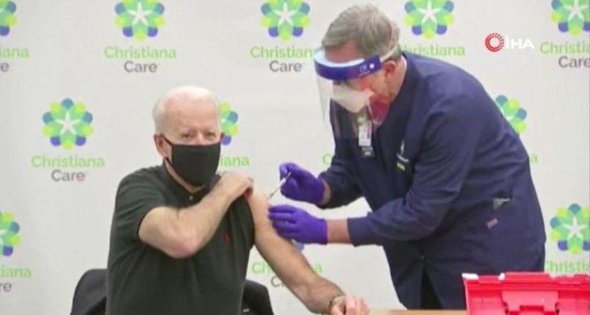 ABD'nin seçilmiş Başkanı Biden'a Covid-19 aşısının ikinci dozu yapıldı