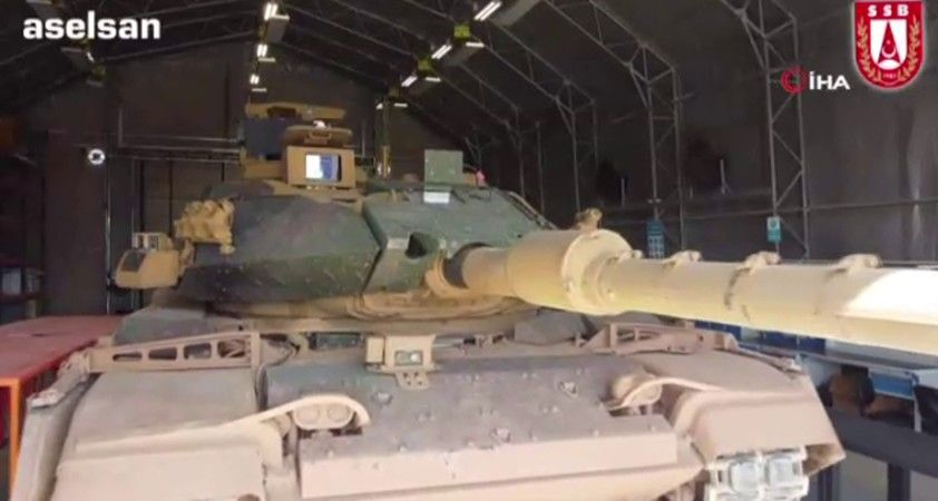 Türk Silahlı Kuvvetleri tankları VOLKAN-M Atış Kontrol Sistemi ile donanıyor