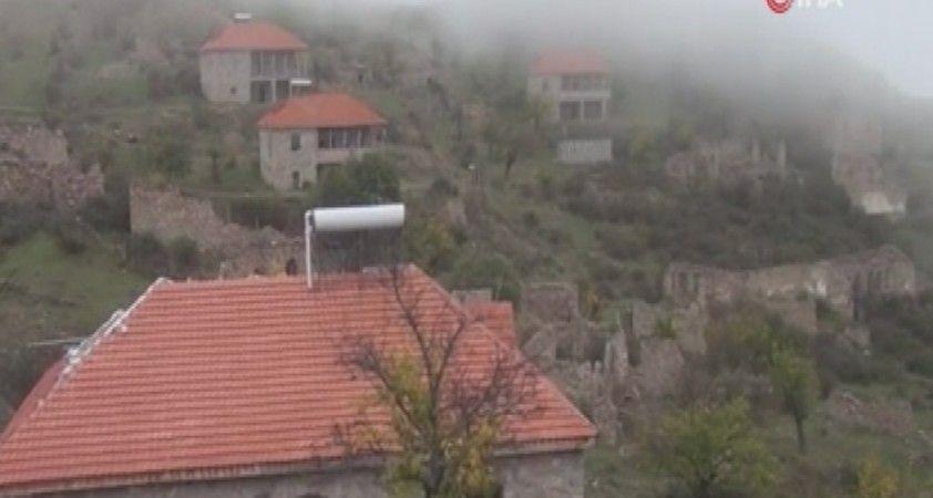 Azerbaycan, Ermenistan işgalinden kurtardığı Daşbaşı köyünden görüntüler paylaştı