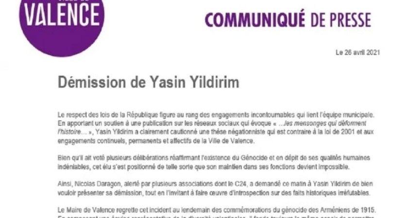Fransa'da ASALA'yı kınayan paylaşımı beğenen Türk meclis üyesi zorla istifa ettirildi