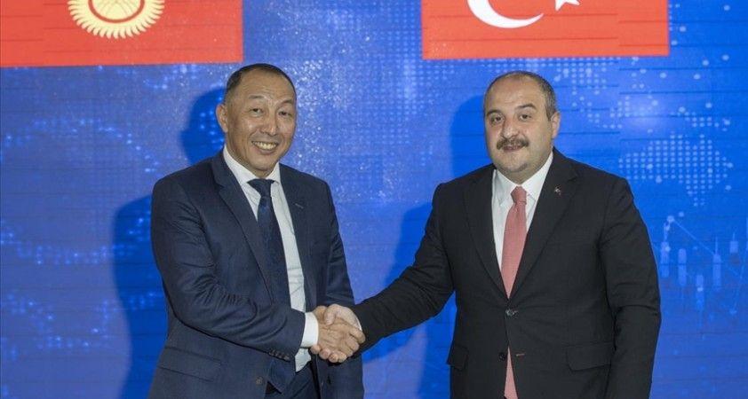 Türkiye ile Kırgızistan arasında sanayi ve teknoloji alanında mutabakat zaptı imzalandı