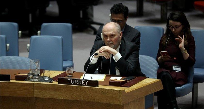 Türkiye'den BM Güvenlik Konseyinde 'Taliban ile kademeli angajman doğru yaklaşım' mesajı