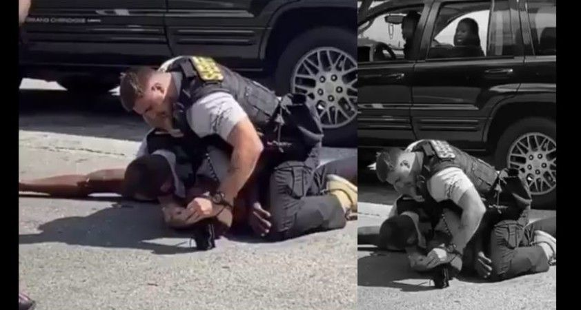 ABD'de bir siyahiyi yumruklayan polis kovuldu