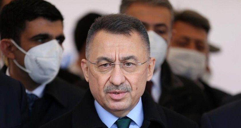 Cumhurbaşkanı Yardımcısı Oktay: Biz, Türkiye olarak üreten bir Kıbrıs istiyoruz